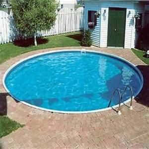 Piscine A Enterrer : piscine enterree forme ronde groupe abris et piscines ~ Zukunftsfamilie.com Idées de Décoration
