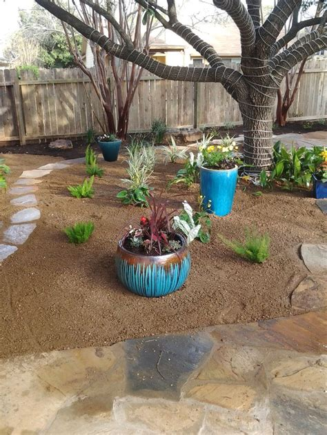 Backyard Landscape Plans by Backyard Landscape Decomposed Granite Patio Underneath