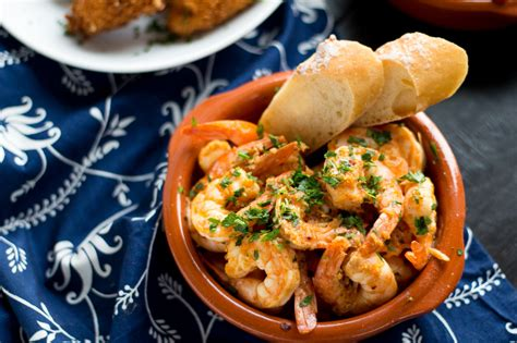 Garlic Shrimp (Gambas al Ajillo) - Fox and Briar