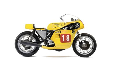 Triumph Trident Racing Motorcycle