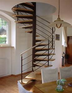 Escalier hélicoïdal d'exception Schaffner