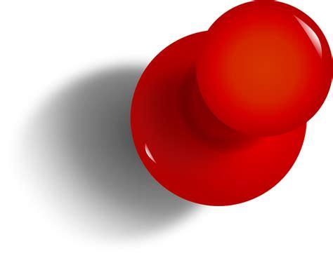 punaise de bureau image vectorielle gratuite dessin pin taquet punaise