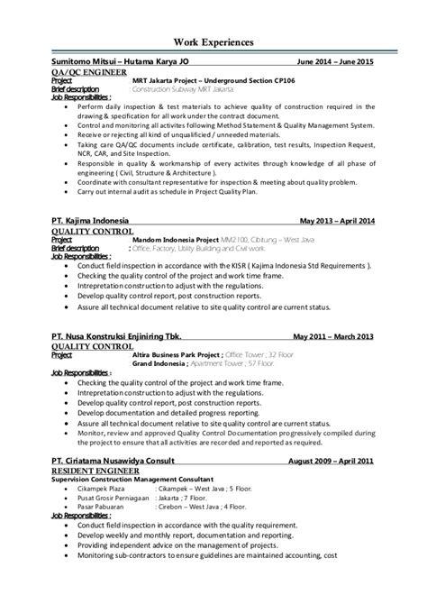 Hvac Controls Engineer Resume by 100 Site Engineer Resume Sle Hvac Resume
