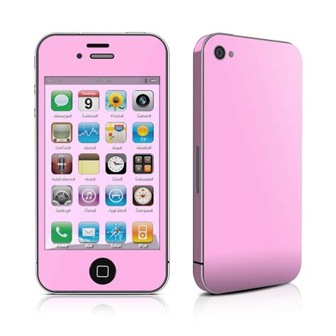 iphone pink solid state pink iphone 4 skin covers iphone 4s for