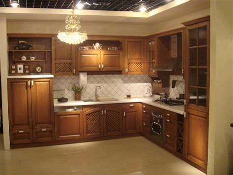 wood cabinet kitchen ideas تصاميم لـــمطابخ صغيرة clairefunny 1566