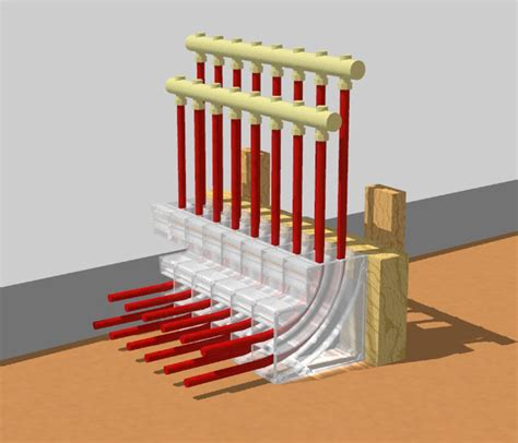 pex radiant floor heating design pex pal in floor heating organizer collector axiom