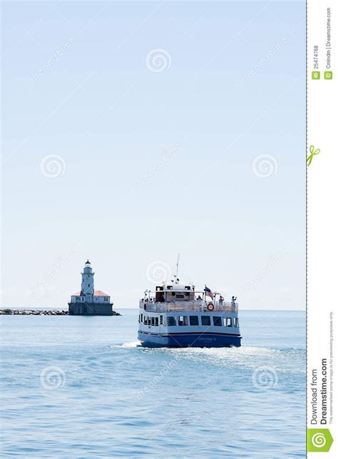 Boat Rides At Navy Pier by Boat Ride At Chicago Navy Pier Editorial Stock Photo