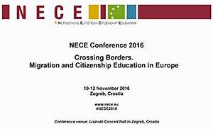 NECE conference 2016: Crossing Borders. Migration and ...