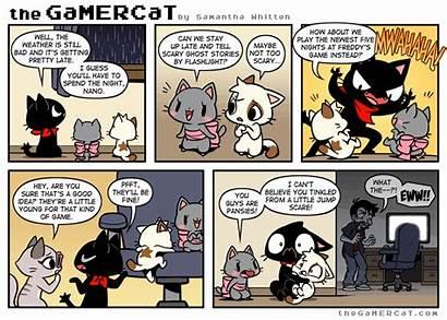 Gamercat Cat Comics Gamer Thegamercat Funny Comic