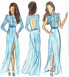 Prom Dresses Sketches - Latest Fashion Style