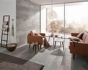 Wandgestaltung Wohnzimmer Erdtöne : fliesen in naturt nen ~ Sanjose-hotels-ca.com Haus und Dekorationen