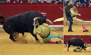 One-eye Spanish matador nicknamed 'The Pirate' is gored in ...