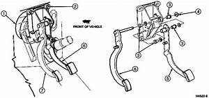 Brake  Clutch Pedal Assembly Loose
