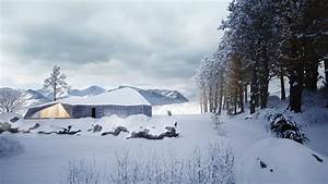 Winter, House, By, Sergey, Makhno, Architects