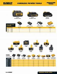 Dewalt Battery Compatibility Chart Dewalt Tools Catalog