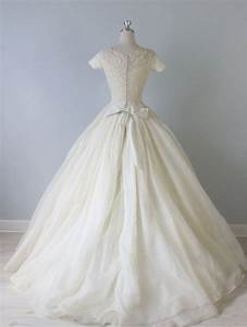 vintage 1950s wedding dress 50s bridal gown ballroom With vintage 50s wedding dresses