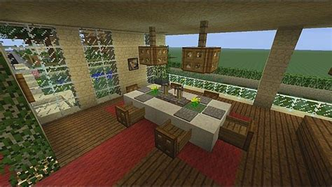 Living Room Ideas Minecraft by Minecraft Dining Room Minecraft Interior Design Living