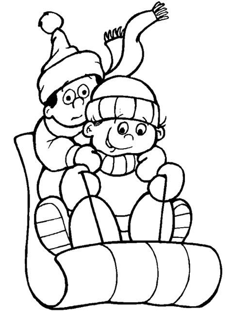Disney Kleurplaat Winter by Winter Kleurplaten Animaatjes Nl