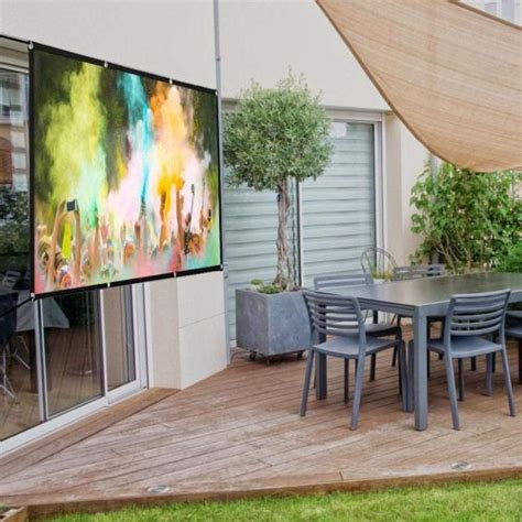 Top 10 Best Portable Projector Screens in 2020 SpaceMazing