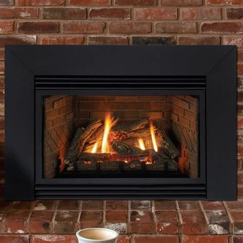 gas fireplace inserts with blower 30 quot innsbrook direct vent fireplace insert liner blower