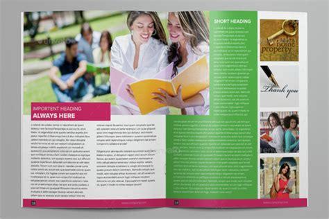 College Brochure Design Ideas 40 College Brochure Templates Free Psd Pdf Word Sle