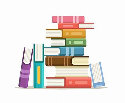 Stack Books Clipart Vector Clip Library Graphics