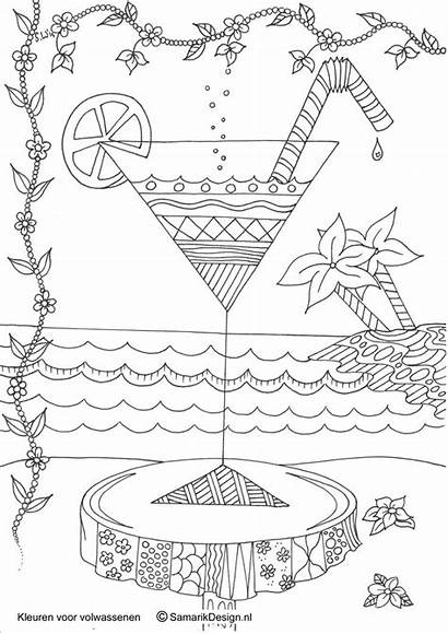 Coloring Adult Adults Printable Colouring Books Sheets