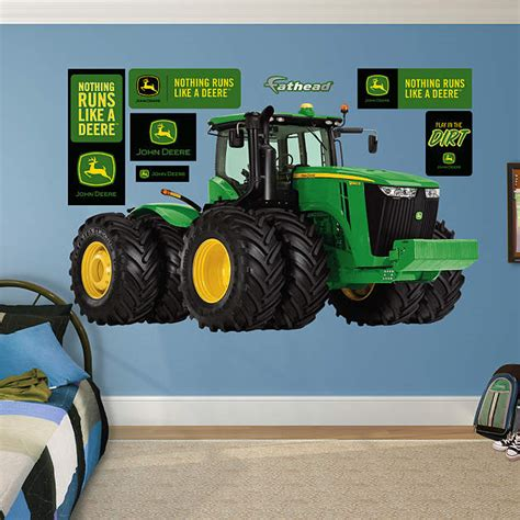 john deere 9560r tractor wall decal shop fathead 174 for