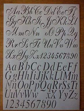 flexibel sjabloon klassiek nr  letters en cijfers sierlijk letters hoofdletter hoogte  cm