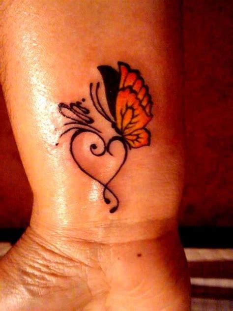 butterfly tattoos heart tattoos small tattoos