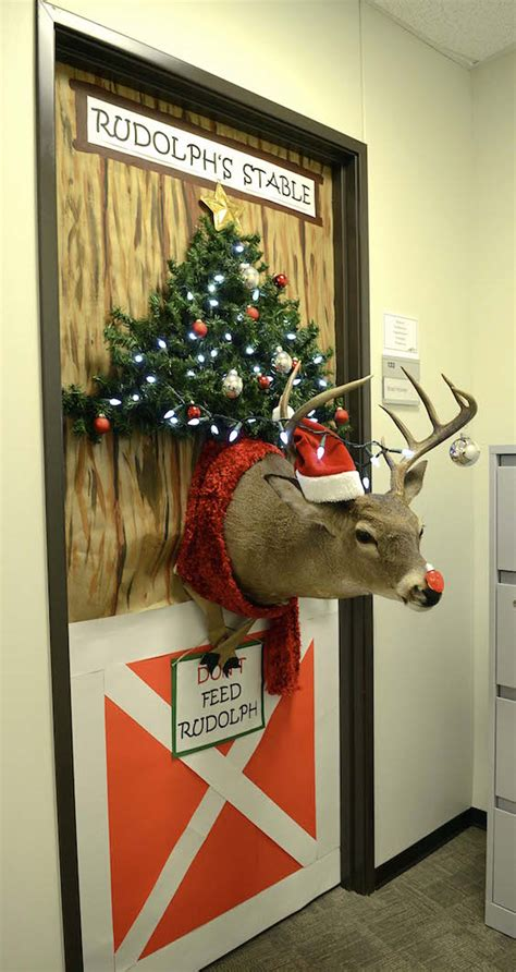 christmas office decoration ideas feed inspiration