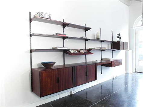 Mounted Shelving Unit by Wall Mounted Shelving Unit By Kristiansen For