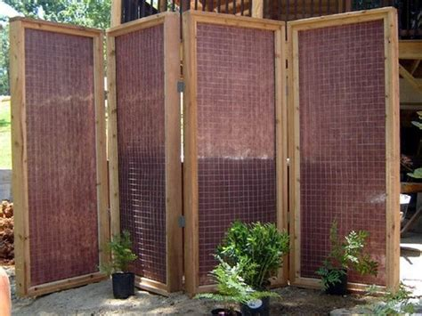 25 best ideas about outdoor privacy screens on
