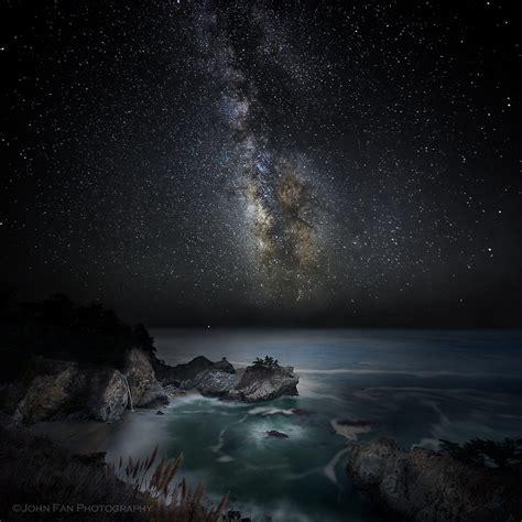 Night Big Sur When Life Takes Detours John Fan
