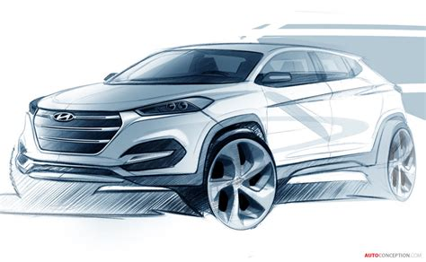 Design Tucson by Hyundai Reveals Design Sketch Of All New Tucson
