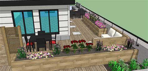 rooftop deck design rooftop deck design service montreal outdoor living