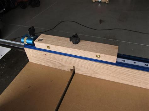 adjustable crosscut sled box joint jig  greg wurst