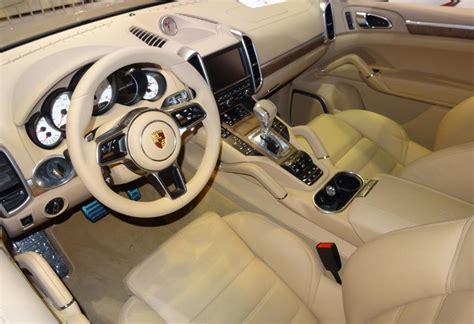 2017 Porsche Suv Cayenne Interior