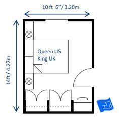 image result  small double bedroom  ft  ft ideas