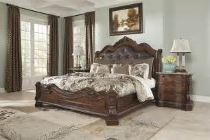 ledelle king sleigh bed from millennium by furniture