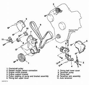 1996 Dodge Avenger Serpentine Belt Routing And Timing Belt