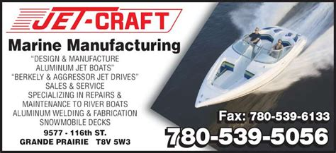 Boat Repair Around Me by Jet Craft Marine Manufacturing Grande Prairie Ab 9577