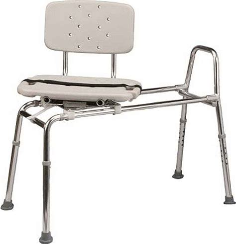 sliding transfer bench with swivel seat colonialmedical