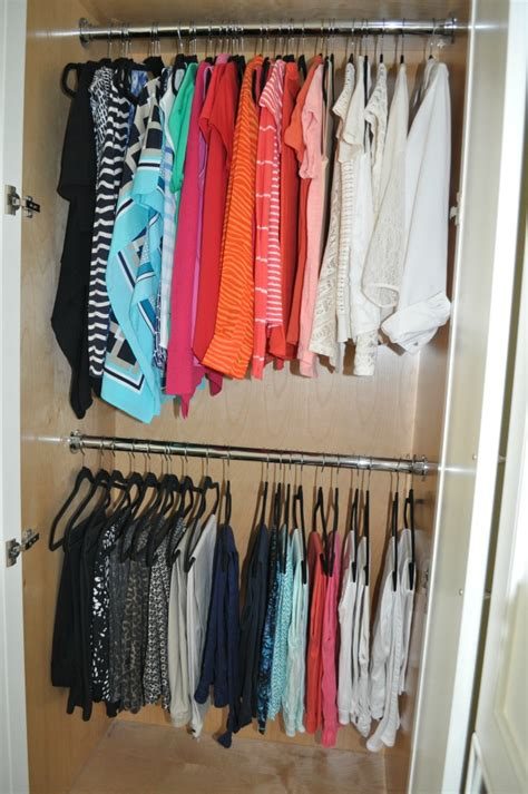 Color Coded Closet by Closet Overhaul Start The New Year Fresh Fabulous