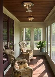 Narrow, Sunroom, Design, Ideas