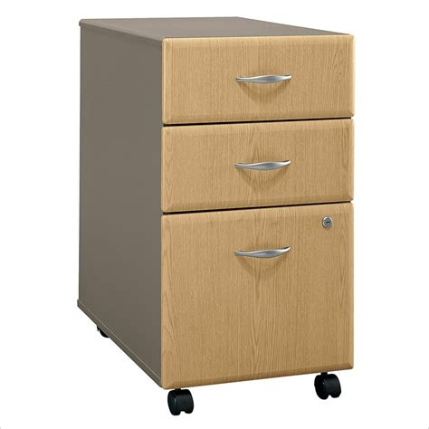 3 drawer vertical file cabinet bush series a 3 drawer vertical mobile wood file light oak