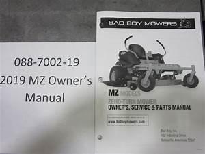 Bad Boy Mower Parts
