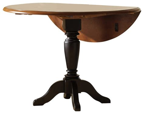 42 inch round dining table liberty furniture low country black 42 inch round drop