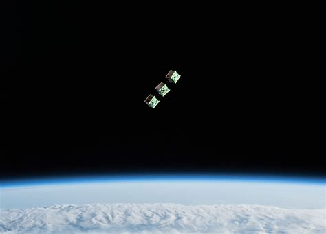 Cubesats From Nepal Sri Lanka And Japan Deployed From