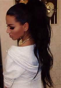 High Ponytail Hairstyles Black Hair